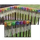 Luau Deck Fringe with Hibiscus Flowers