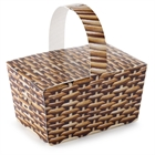Basket Empty Favor Boxes (4)