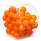 Orange Gumballs (8 oz)