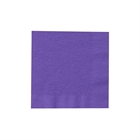 Purple Beverage Napkins (50)