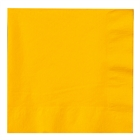 Yellow Lunch Napkins (50)