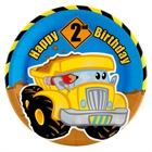 Construction Pals 2nd Birthday Dinner Plates (8)
