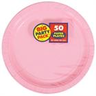 Light Pink Dinner Plates (50)