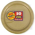 Gold Dinner Plates (50)