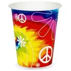 Tie Dye Paper Cups (8)