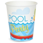 Pool Party Paper Cups (8)