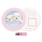Glamour Dogs Activity Placemat Kit for 4