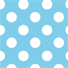 Pastel Blue and White Dot Lunch Napkins