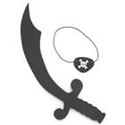 Foam Pirate Sword & Eyepatch