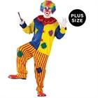Big Top Clown Adult Plus Costume