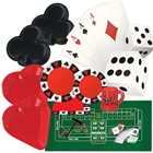 Casino Card Night Ultimate Experience Party Pack for 8