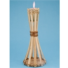 Natural Bamboo Mini Table Torch