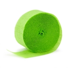 Lime Green Crepe Paper
