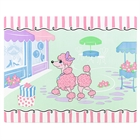 Pink Poodle in Paris Activity Placemats (4)