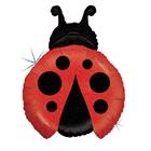 Ladybug Shaped Jumbo Foil Balloon