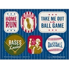 Baseball Time Sticker Sheets