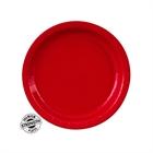 Red Paper Dessert Plates (24)