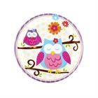 Owl Blossom Dessert Plates (8)