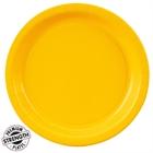 Yellow Dinner Plates (24)