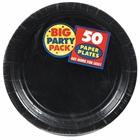 Black Dinner Plates (50)