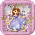 Disney Junior Sofia the First Square Dinner Plates (8)