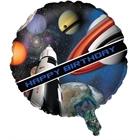 Space Blast Foil Balloon