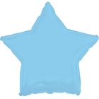 Light Blue Star Foil Balloon