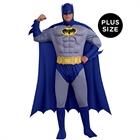 Batman Brave & Bold Deluxe Muscle Chest Adult Plus Costume