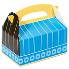 Blue, Black and Yellow Empty Favor Boxes (4)