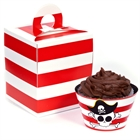 Little Buccaneer Cupcake Wrapper & Box Kit