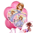 Sofia the First Balloon Bouquet