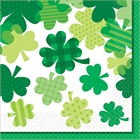 St. Patrick's Day Shamrocks Luncheon Napkins (36)
