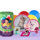 Rachaelhale Glamour Cats 16 Guest Party Pack and Helium Kit