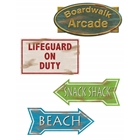 Beach Sign Cutouts (4)