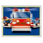 Fire Trucks Activity Placemats (4)