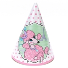 Pink Poodle in Paris Cone Hats (8)