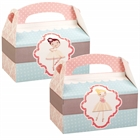 Ballerina Empty Favor Boxes (4)