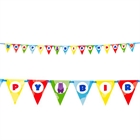 Safari Friends Ribbon Flag Banner