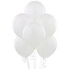 White Latex Balloons (6)
