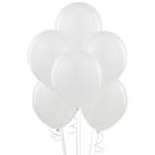 White Latex Balloons (6)