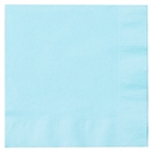Light Blue Lunch Napkins (50)