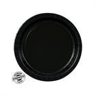 Black Dessert Plates (24)