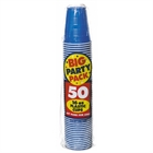 Blue Big Party Pack 16 oz. Plastic Cups