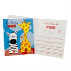 Safari Friends 1st Invitations (8)