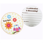 Owl Blossom Invitations (8)