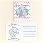 Pink Poodle in Paris Thank-You Notes (8)