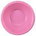 Pink Plastic Bowls (20)