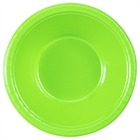 Lime Green Plastic Bowls (20)