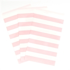 Classic Pink Striped Paper Treat Bags (15)