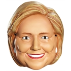 Hillary Clinton Vacuform Election Half Mask